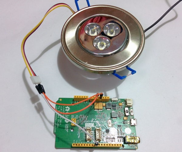 Controlling High Voltage Devices With LinkIt One