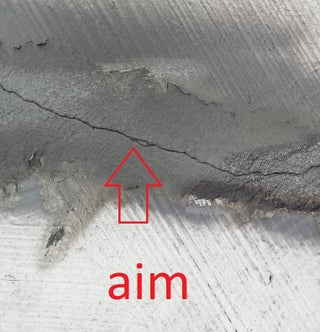 Crack Repair In Concrete Roof 4 Steps With Pictures Instructables