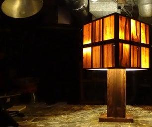 Pallet Lamp