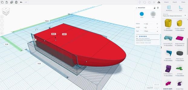 Boat Design: Part 4 - Adding Curves