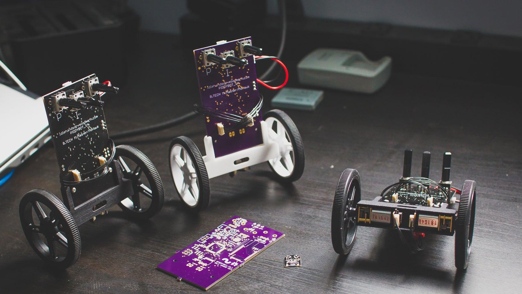 PIDDYBOT - DIY Arduino Balancing Robot