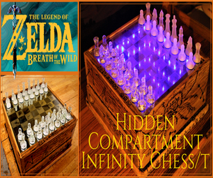 Zelda (BOTW) Secret Compartment Infinity Chess Box