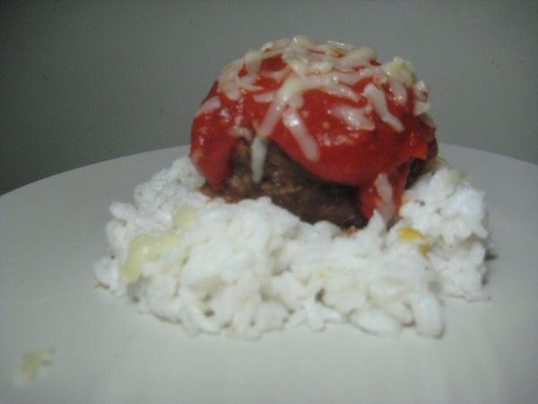 Garlic Cheese & Bacon Stuffed Meatballs