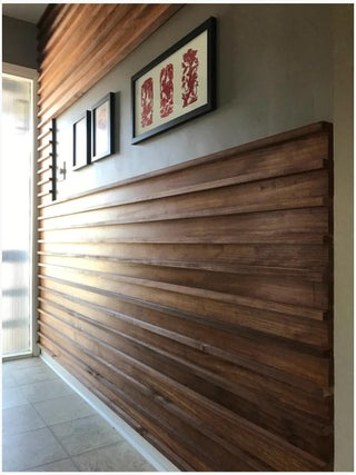 Wood Slat Wall 7 Steps With Pictures Instructables