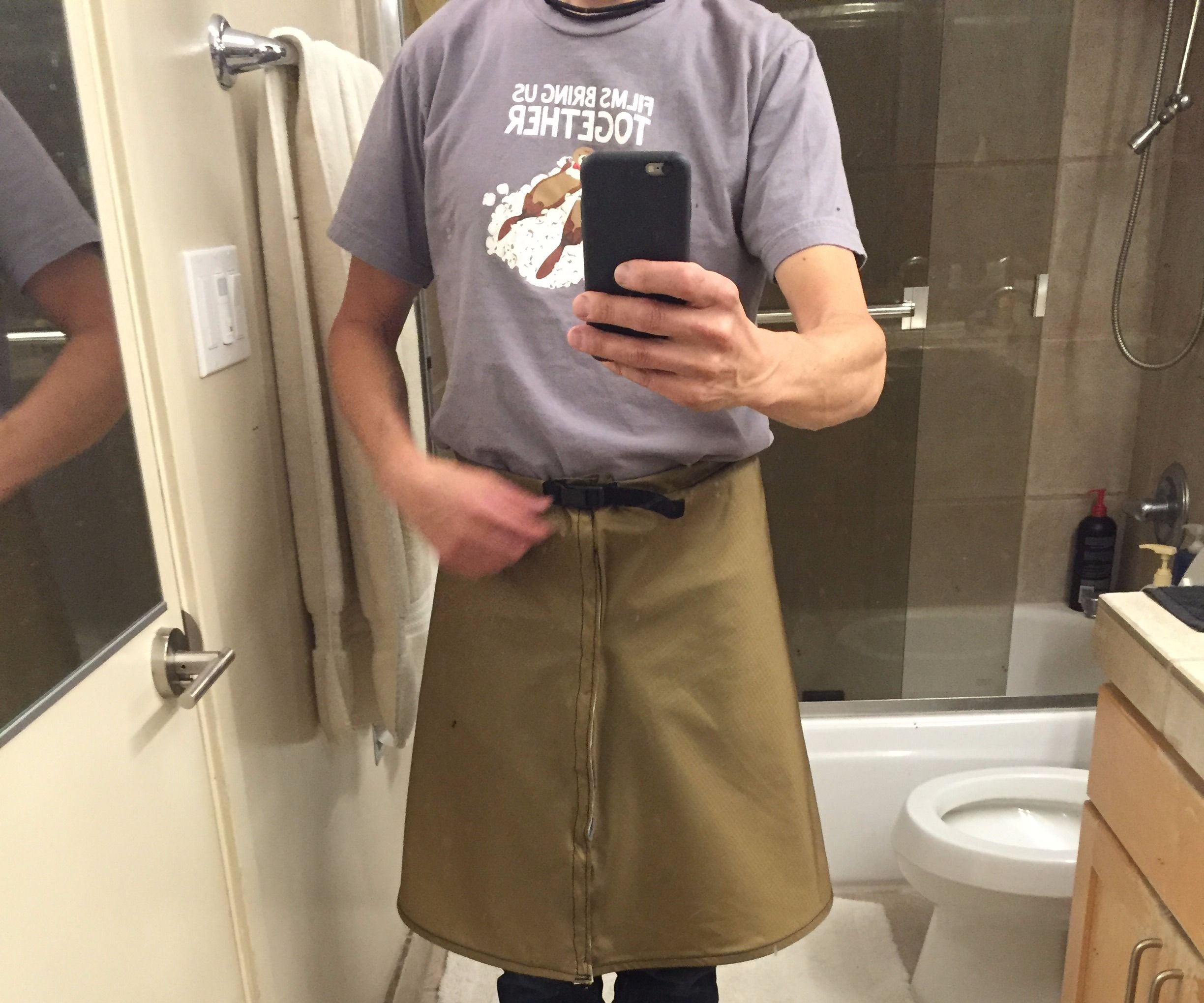 Rain Kilt (Skirt) for hiking