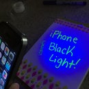 iPhone Black Light