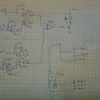 Build a Simple Water Level Control
