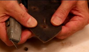 Make Slit for Pin Holes