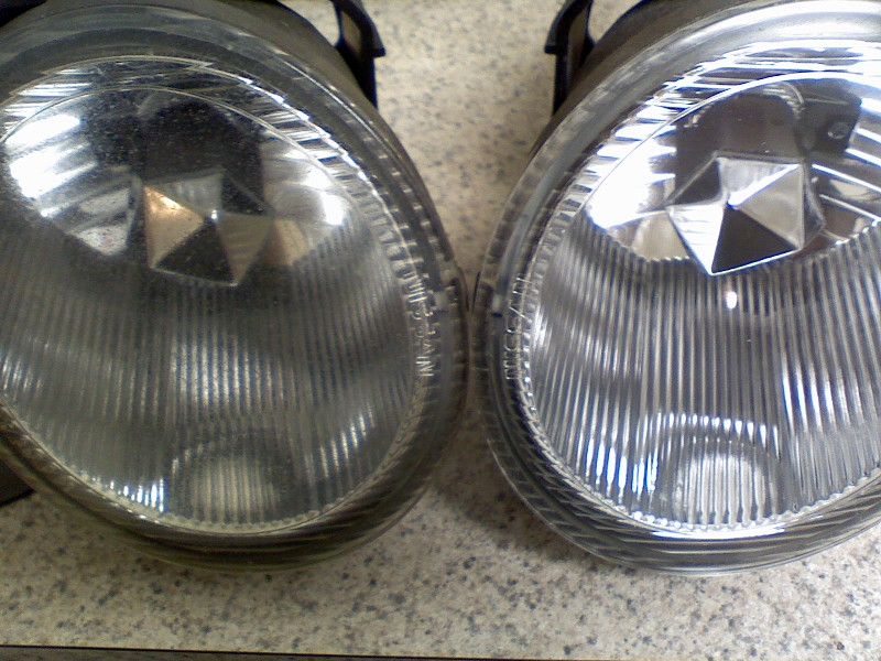 Complete Headlight or Foglight Restoration: Fix dull, hazy, yellow, pitted lights