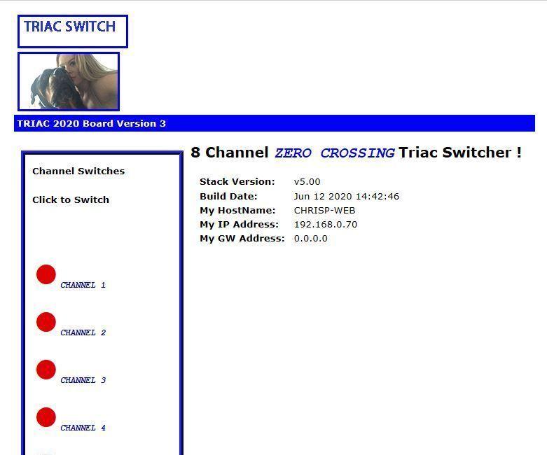 THE NEW ZERO CROSSING WEB BASED TRIAC CONTROLLER