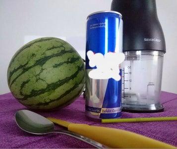Watermelon With EnergyDrink Slush