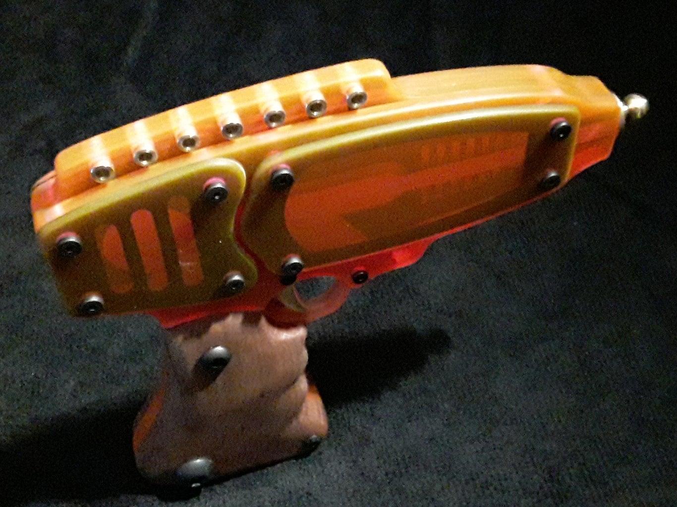 Plexiglass Space Pistol