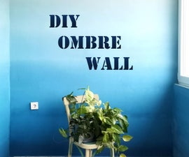 DIY Ombre Wall Paint