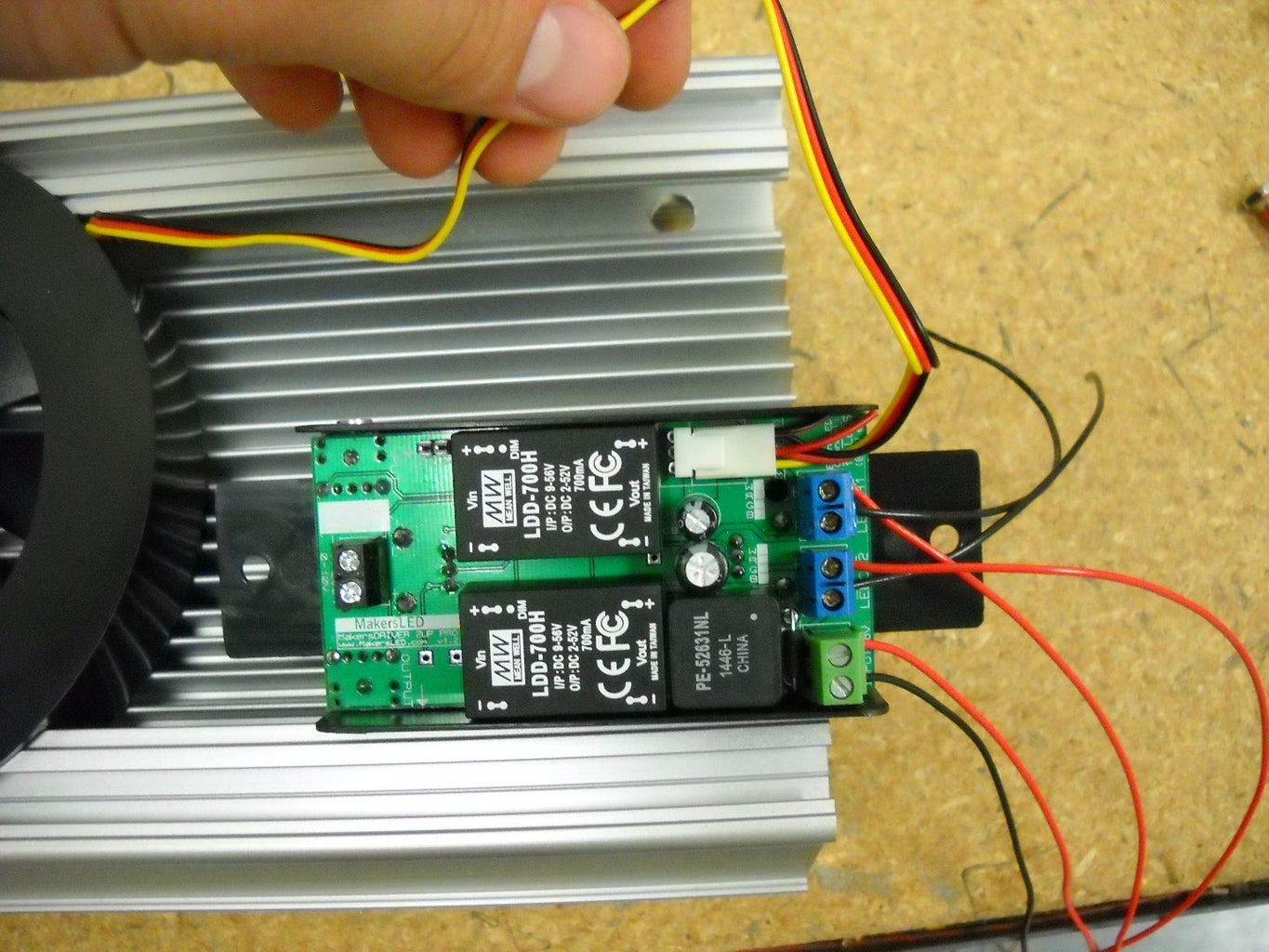 Driver & LED Connections