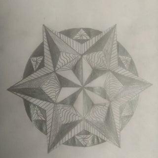 Easy Zentangle Design for Beginners