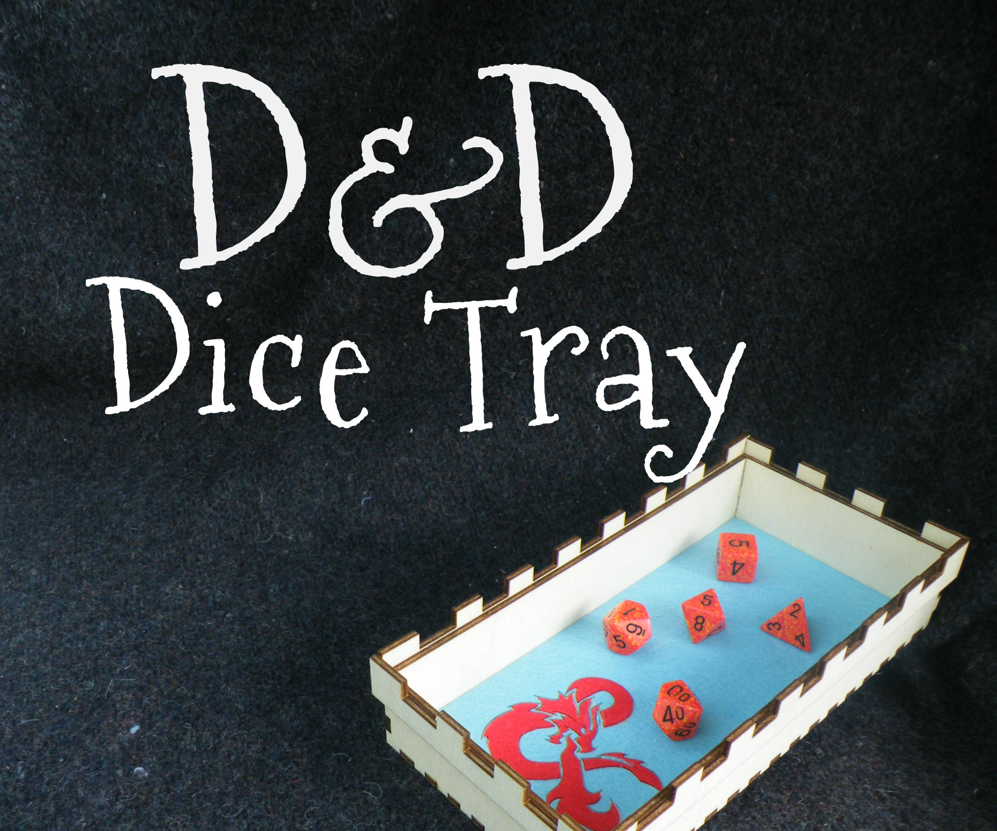 D&D Dice Tray