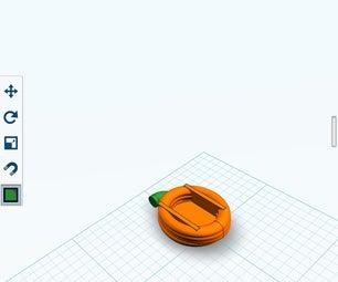 123d Pumpkin IPhone Case