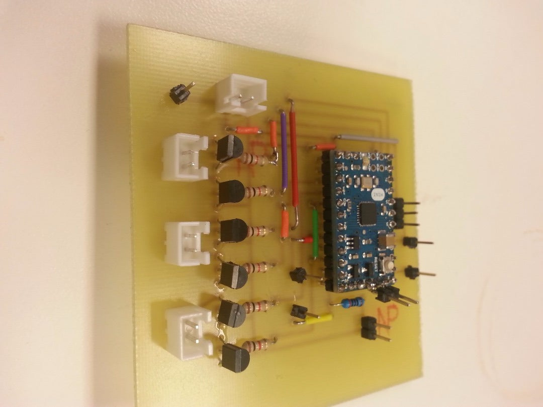 Solder Components to Board