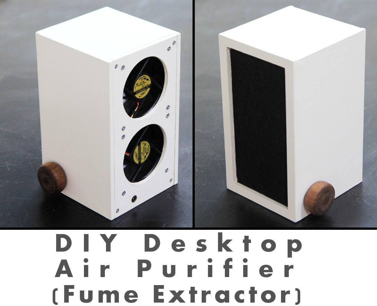 Desktop Air Purifier (Fume Extractor)