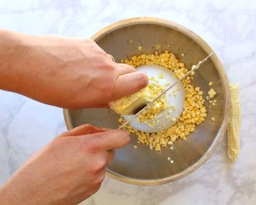 Making the Corn Cream