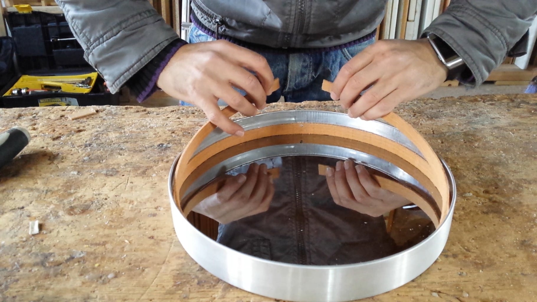 Placing the Wooden Spacers