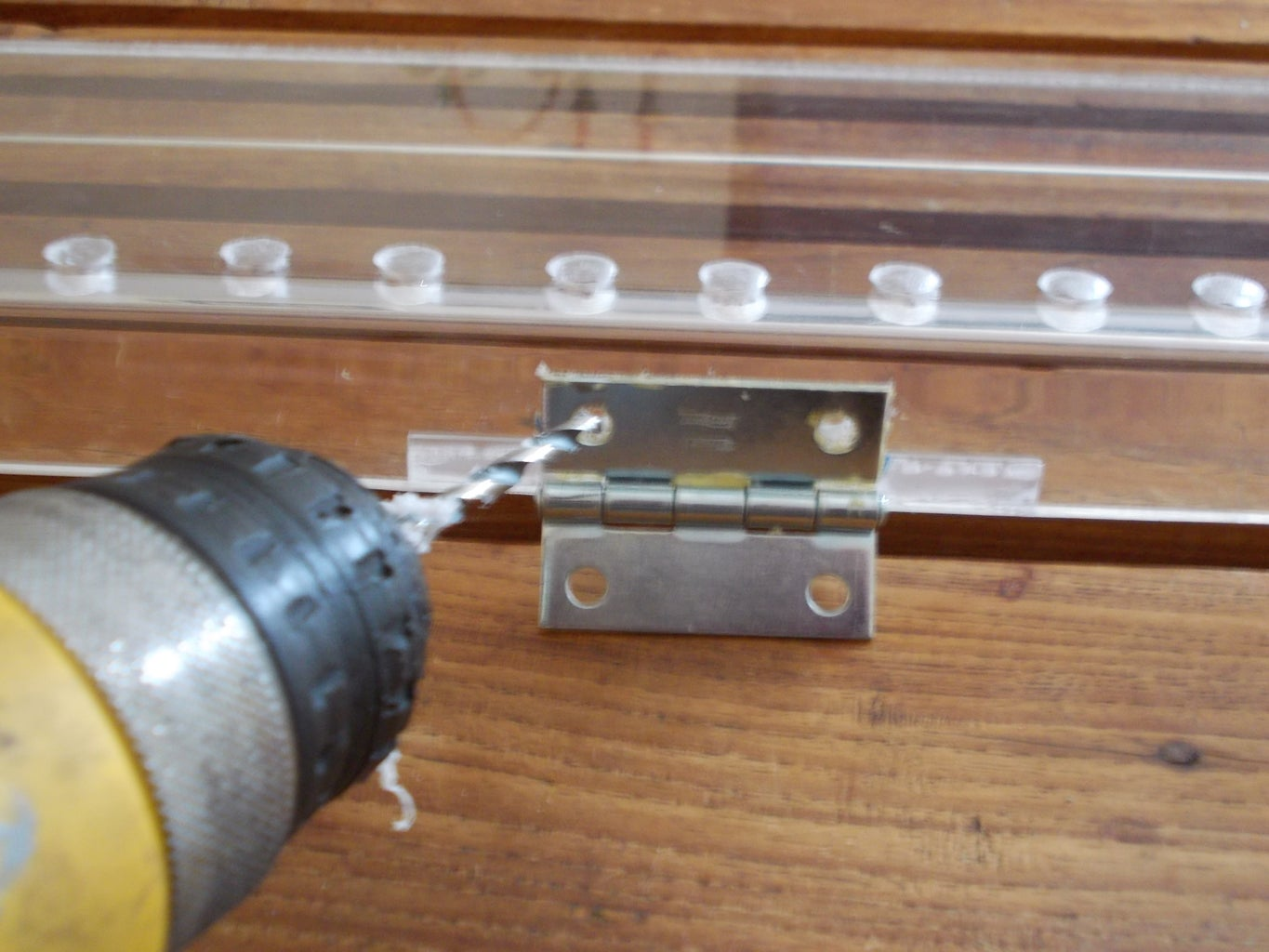 Drill Some Holes and Insert Bolts