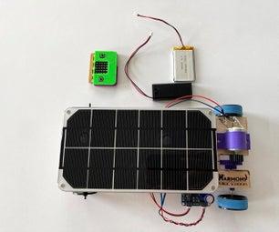 MINI SOLAR CAR带有MICRO:钻头遥控器