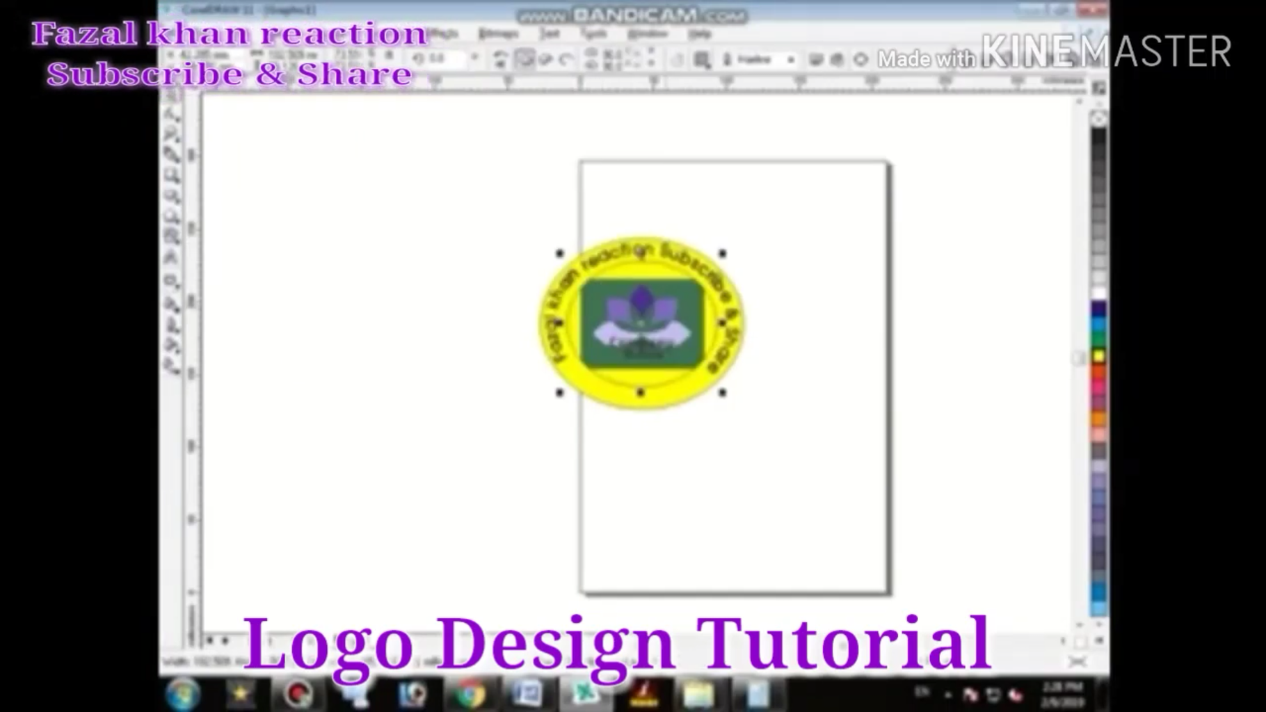 Drag Your Logo Then (Effect=power Clip)