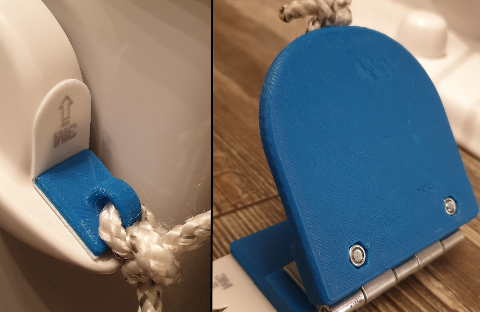 Hands-free Toilet Flush Foot Pedal