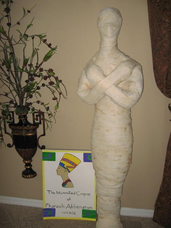 Duct Tape Mummy!