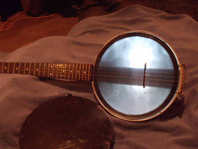 Head option for homemade banjo