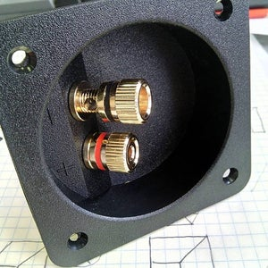 Mounting Speakerhead, Wire Terminal and Wiring.