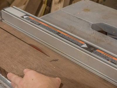 Cutting the Wood and Jointing