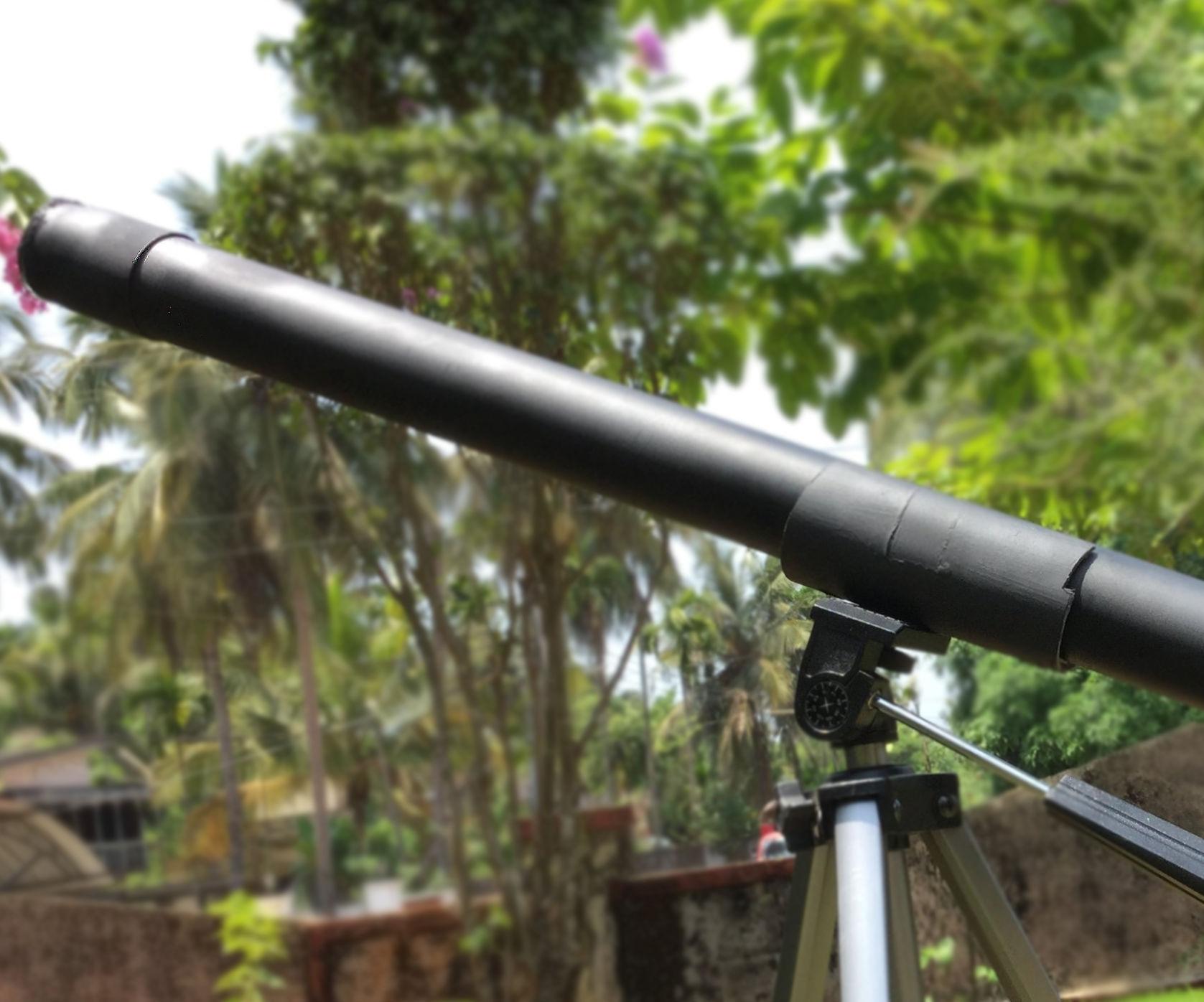 DIY Refractive Telescope