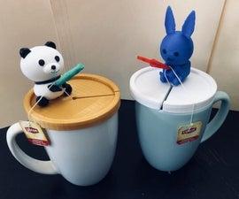 茶包架(熊猫,兔子和怪物卡车)