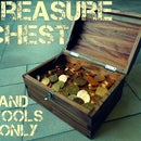 Treasure Chest From Reclaimed Mystery Wood (Hand Tools Only)