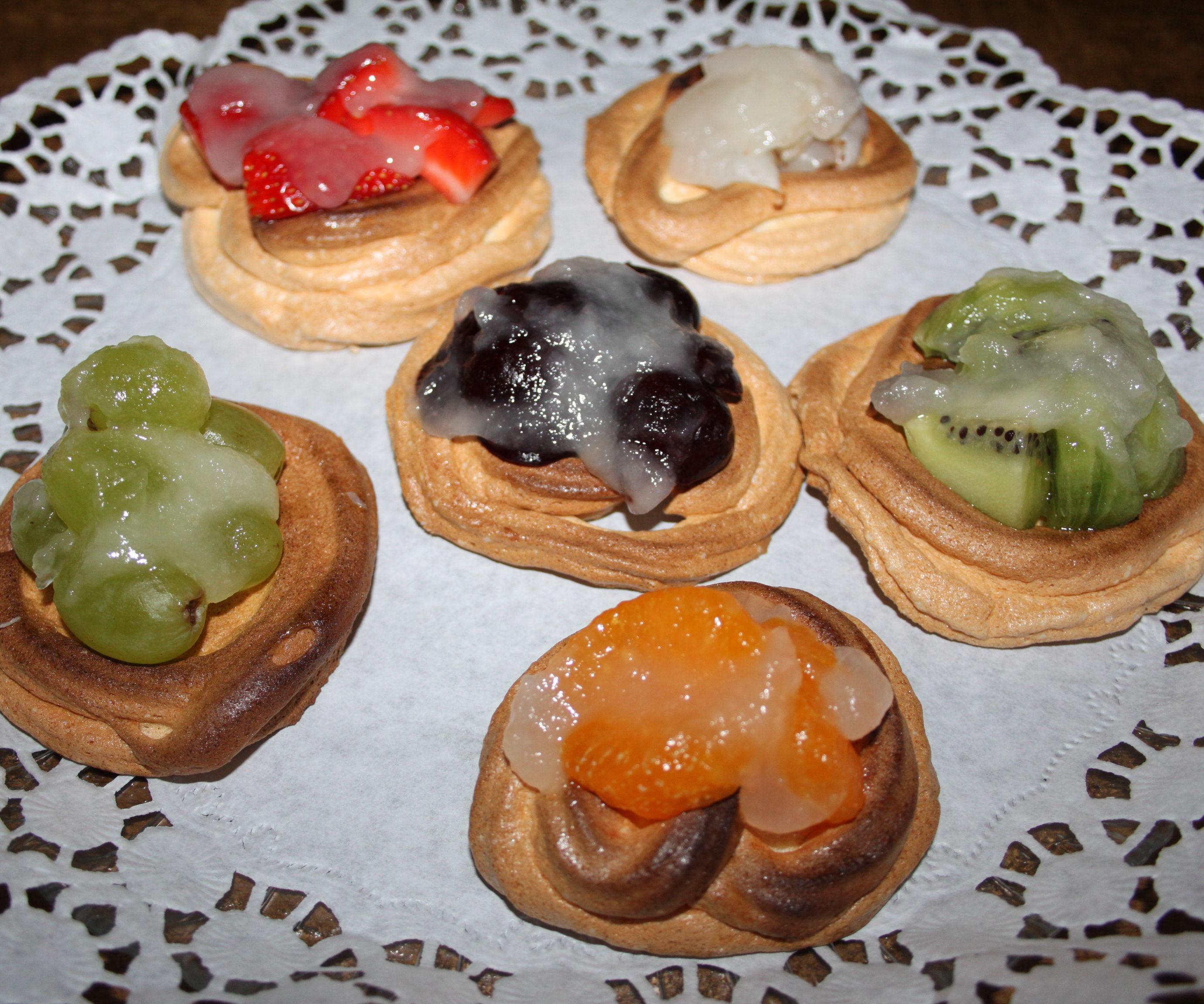Meringue Fruit Tartlets