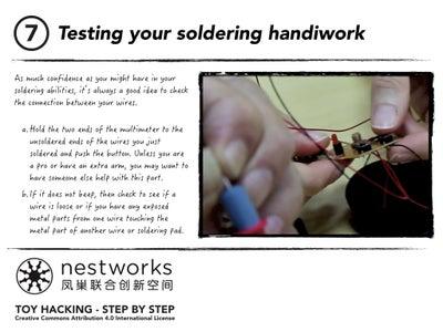Testing Your Soldering Handiwork
