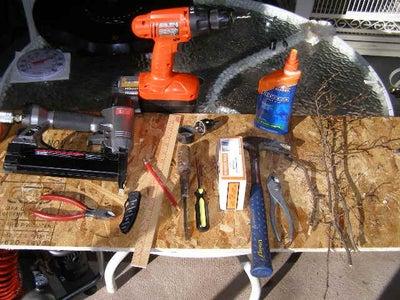 Materials Needed...  Tools Needed...