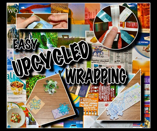 Easy Upcycled Wrapping