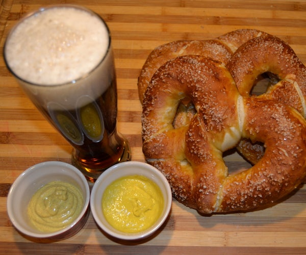 Authentic Bavarian Pretzels