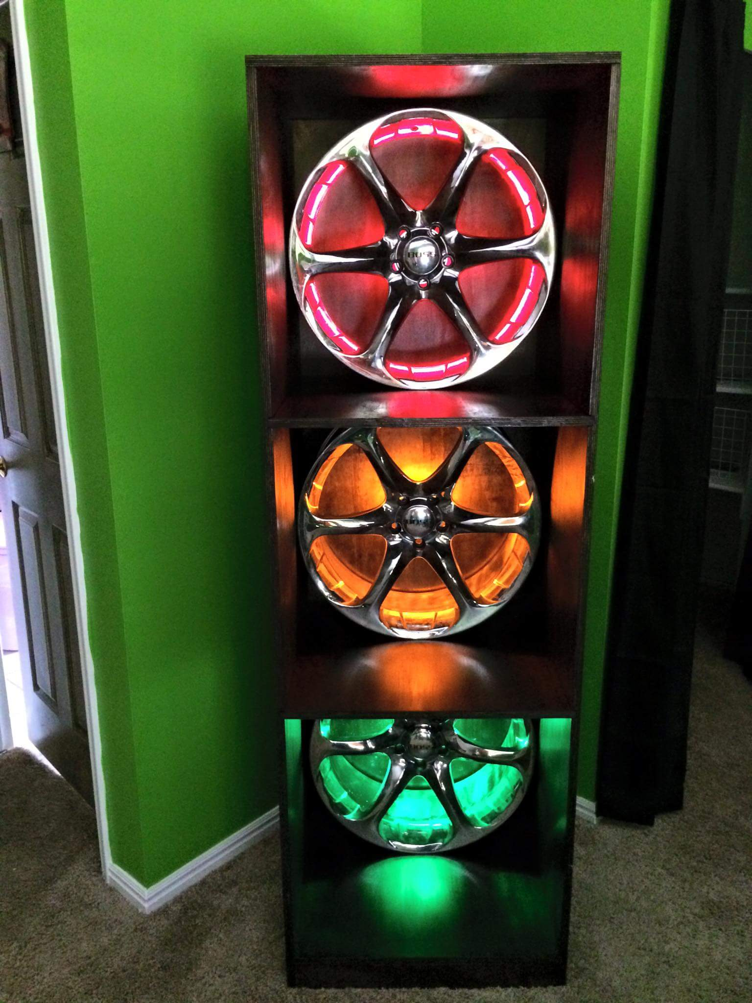 Fast and Furious Bookcase