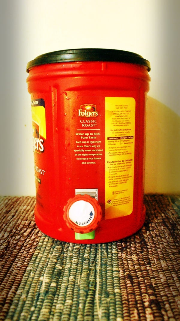 No to Pork Barrel. Yes to My New Water Barrel