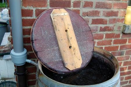 Prepare the Barrel's Lid