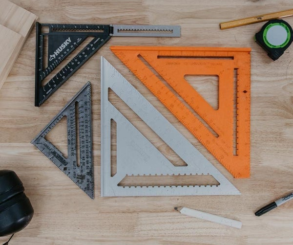 How to Use a Speed Square   the Basics