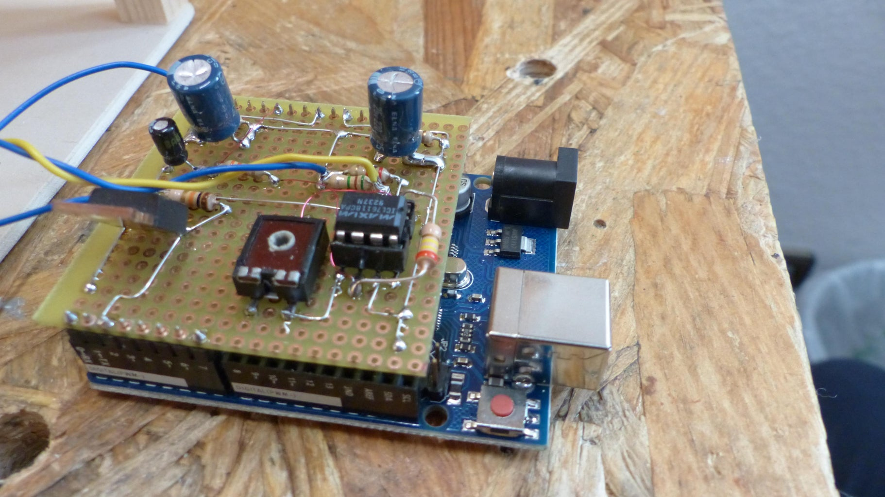 Making the Electronics