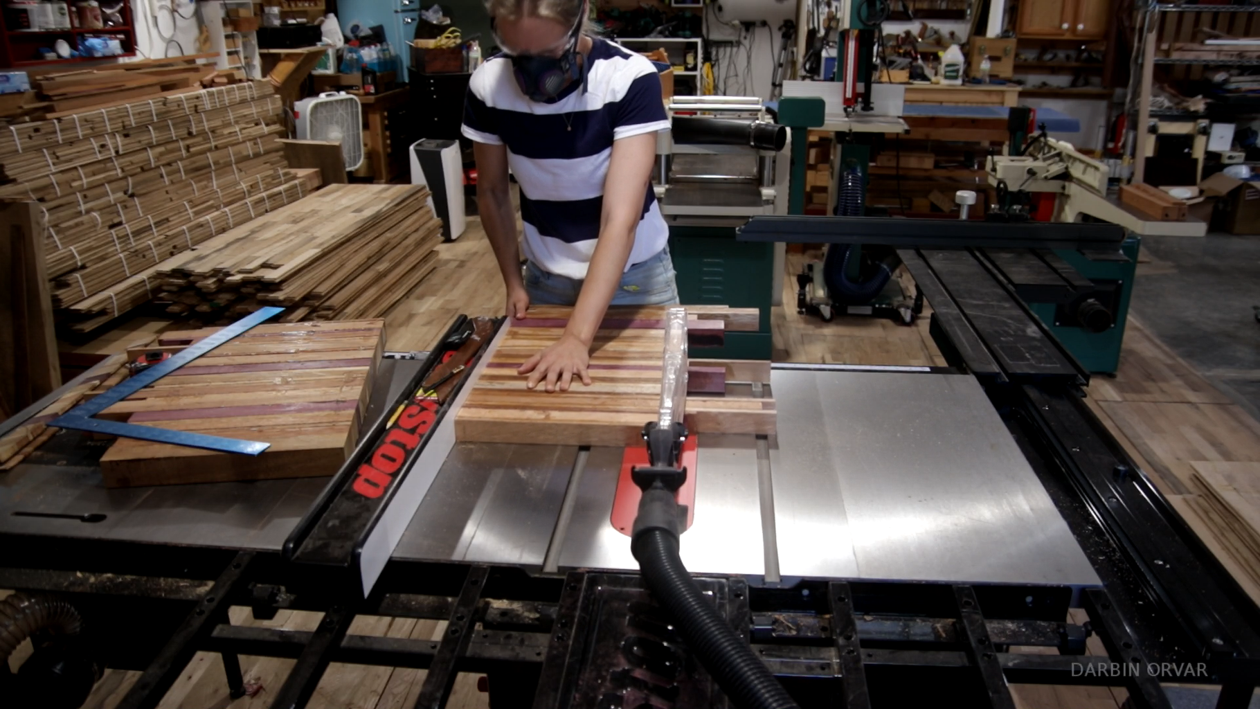 Cutting the Two Boards