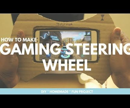 How to Make Steering Gaming Wheel