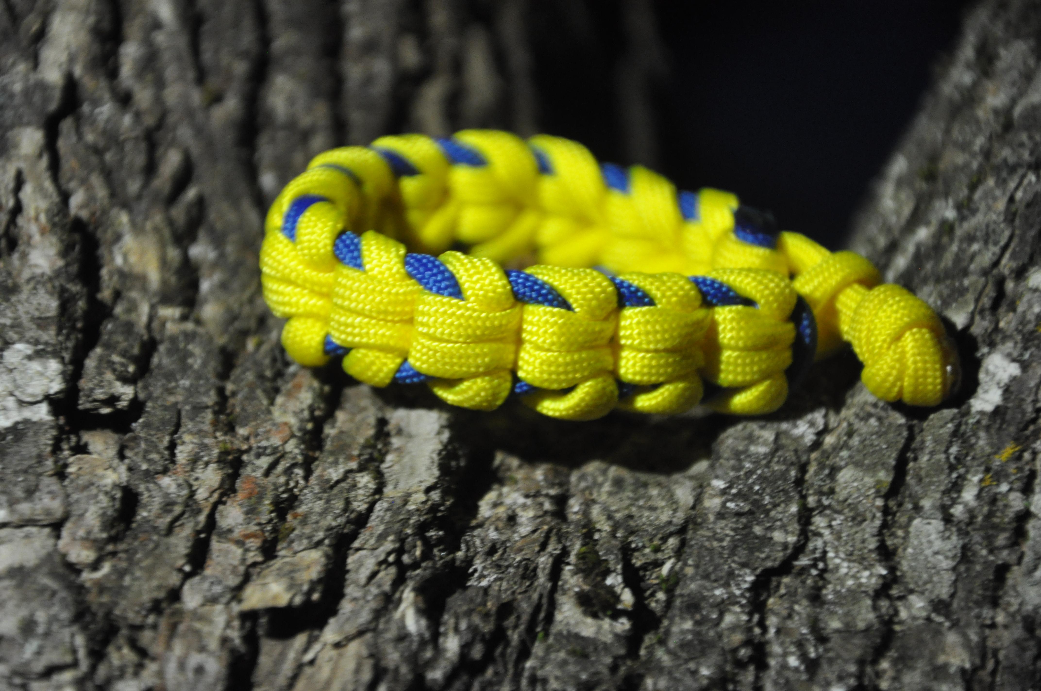 Oat Spike Paracord Bracelet