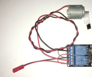 DC Motor Controller With Two Relay